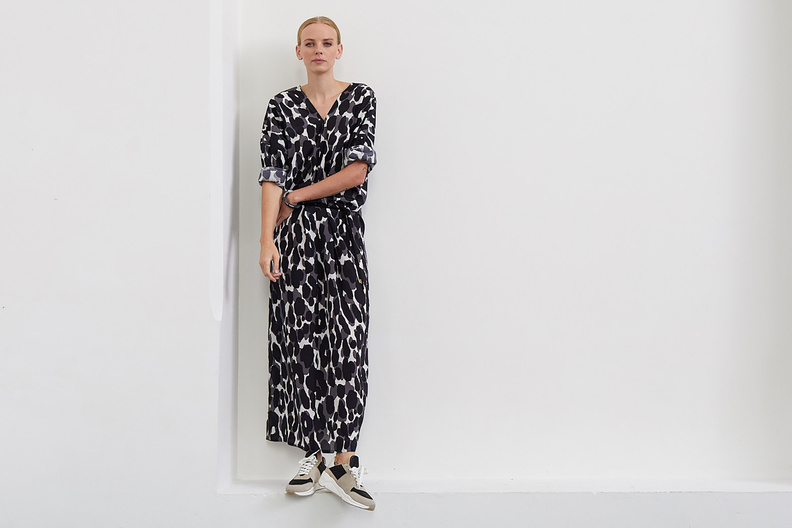 monique van heist tunic dress print