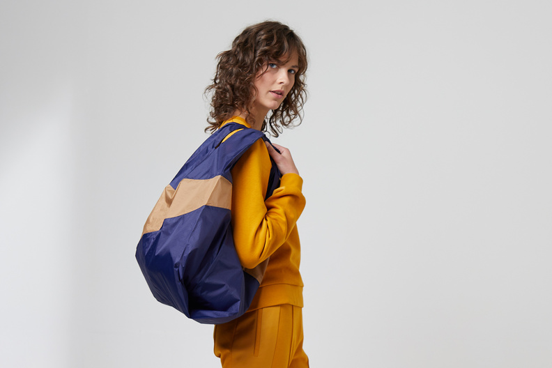 susan bijl shoppingbag camel