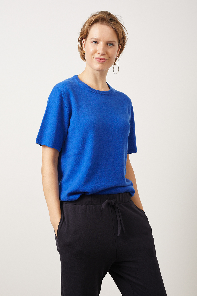 extreme cashmere nº64 tshirt primary blue