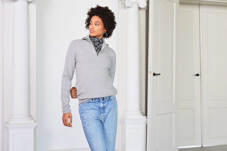 extreme cashmere nº102 here grey