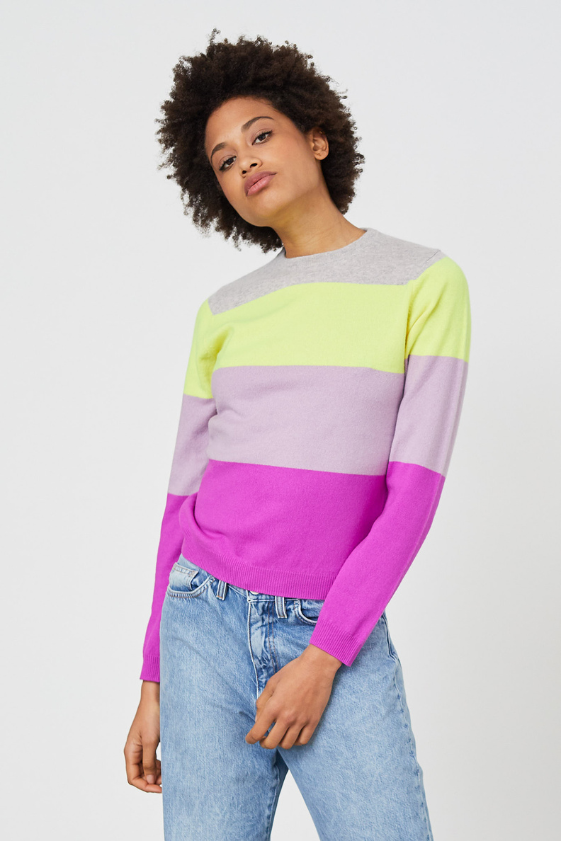 people's republic of cashmere roundneck hubba bubba