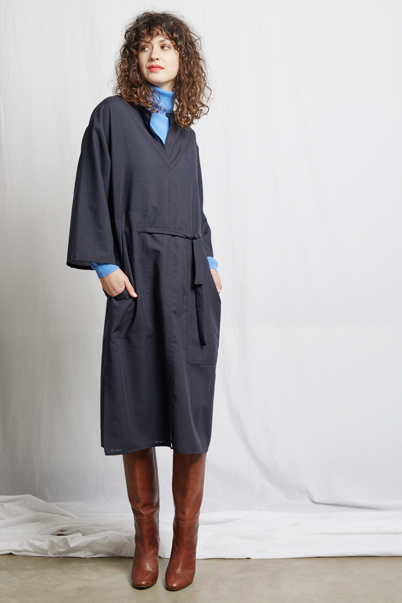 fant connect dress wool