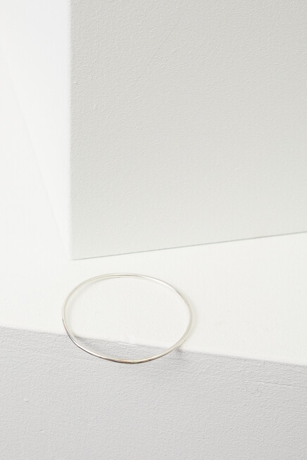 martine viergever handcrafted bangle silver
