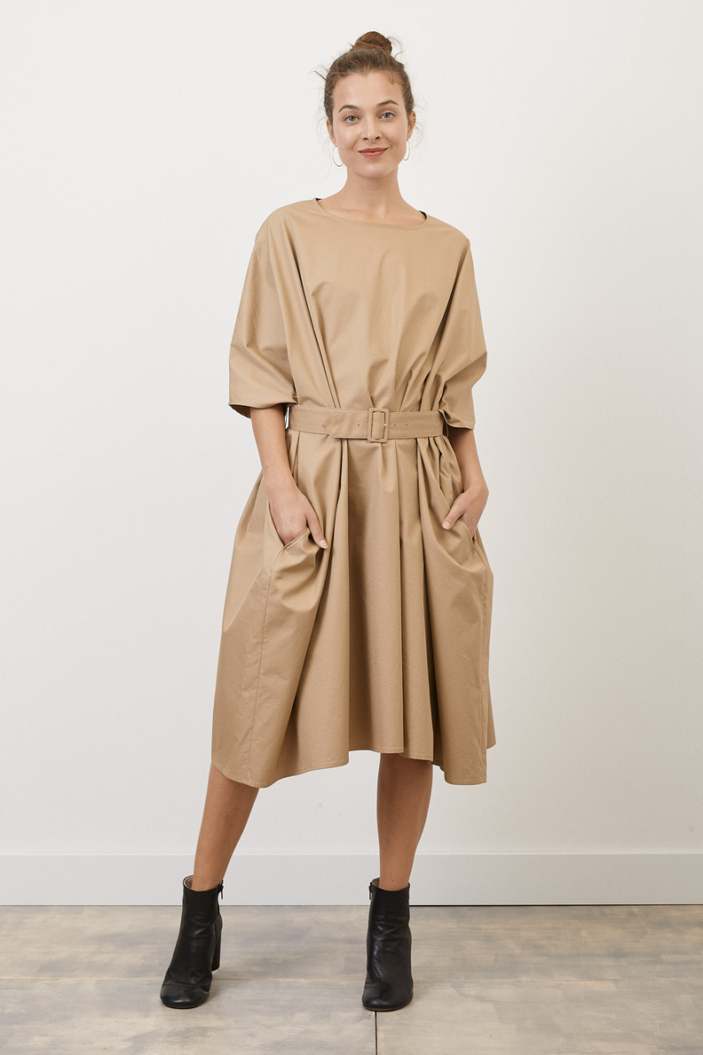 maison margiela mm6 dress sand