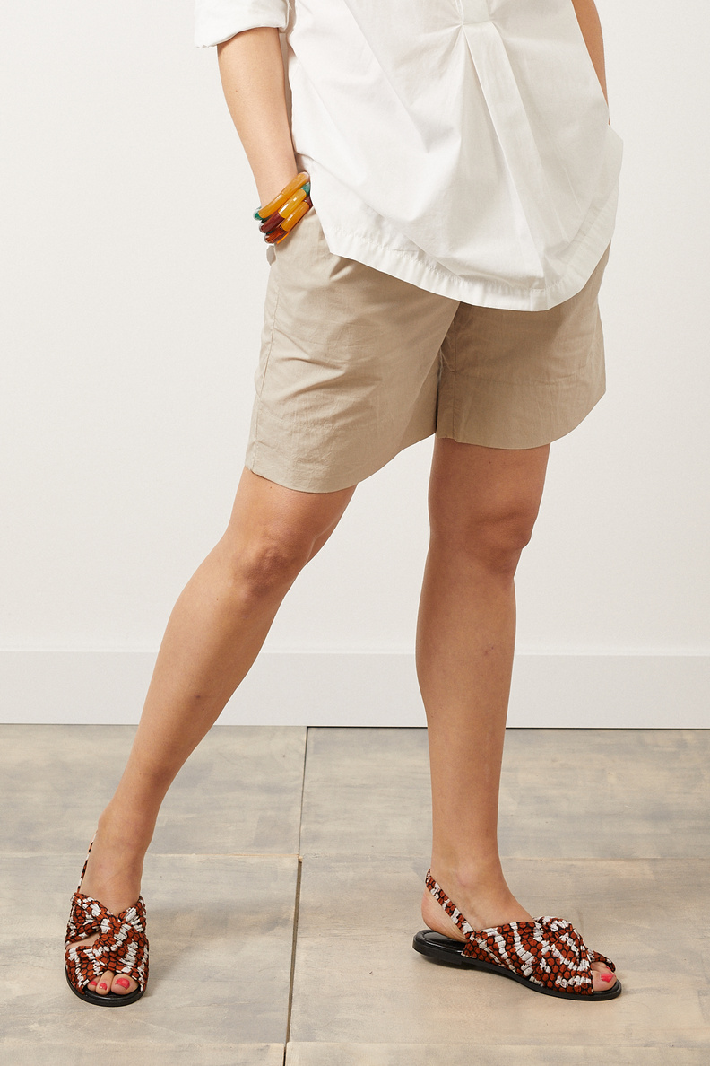 aiayu shorts long beige