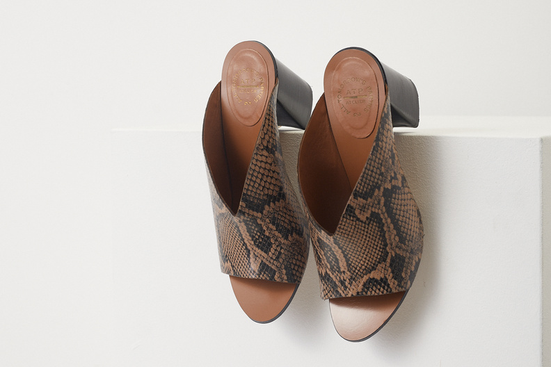 atp atelier licola brown printed snake