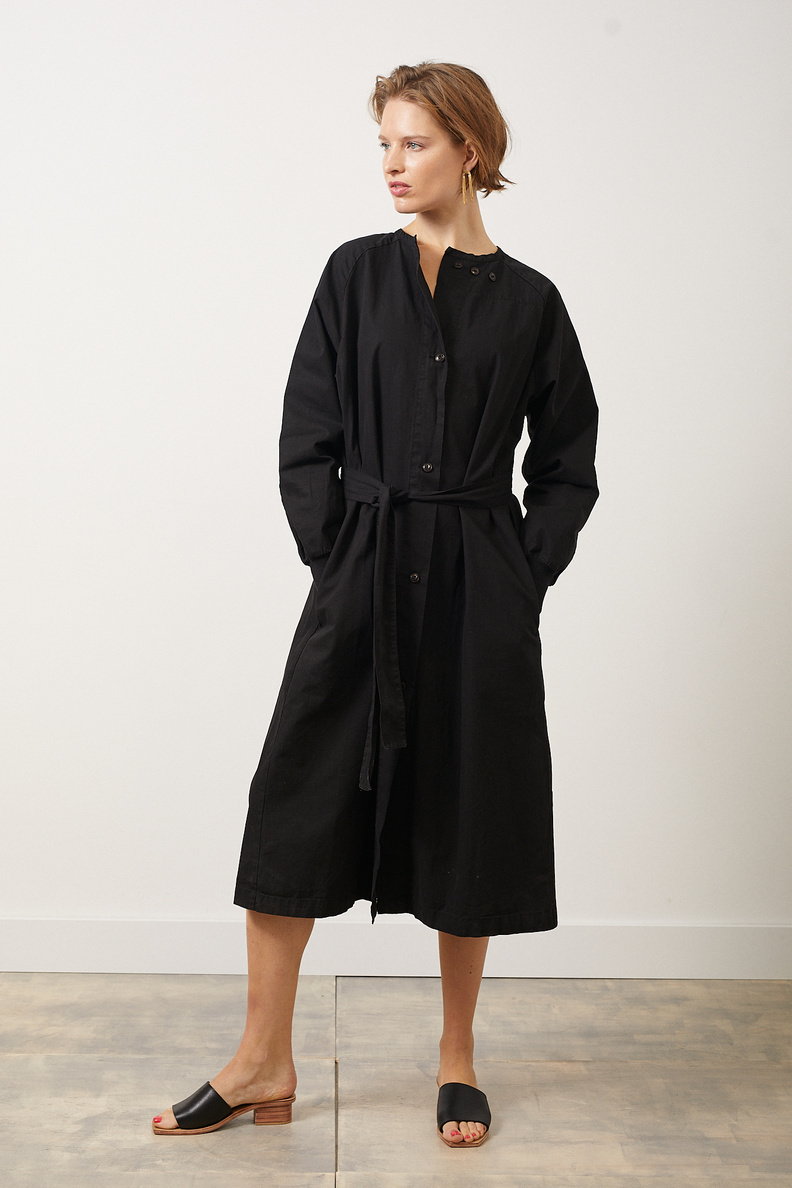 girls of dust military robe black