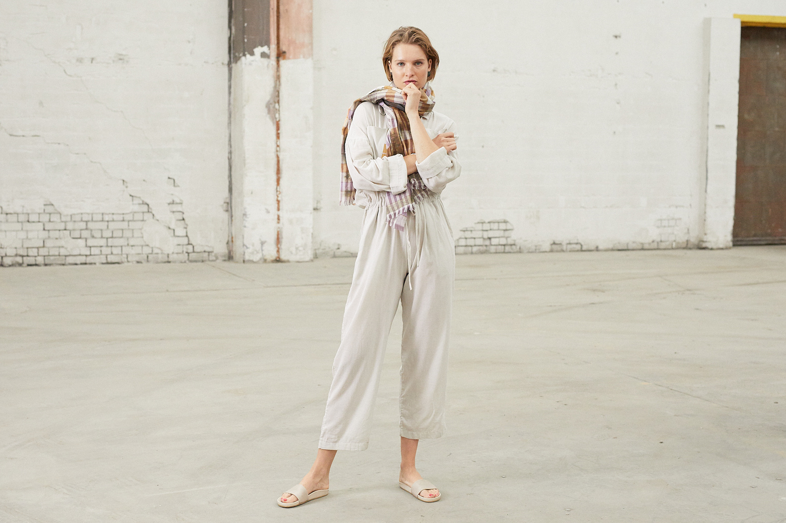 can pep rey jumpsuit emily stone
