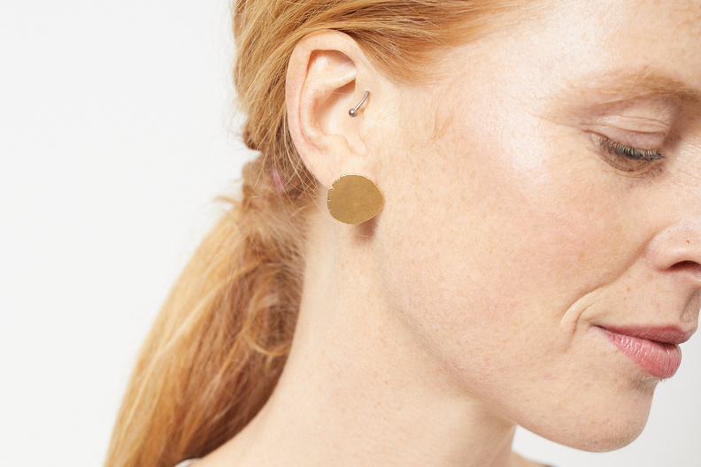 martine viergever x fant moon m goldplated silver