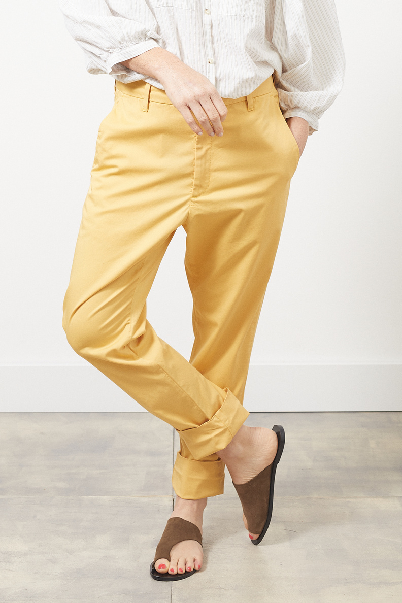 hope news trousers mustard