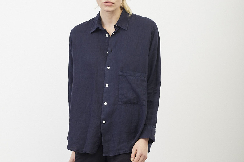 hope elma shirt navy
