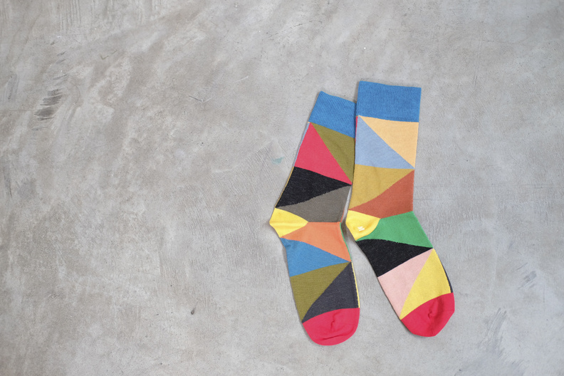 jo gordon triangle socks