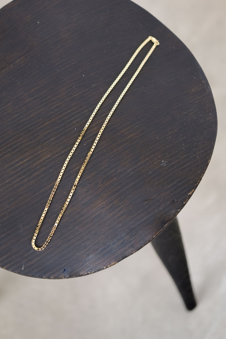 martine viergever venetian necklace thick gold
