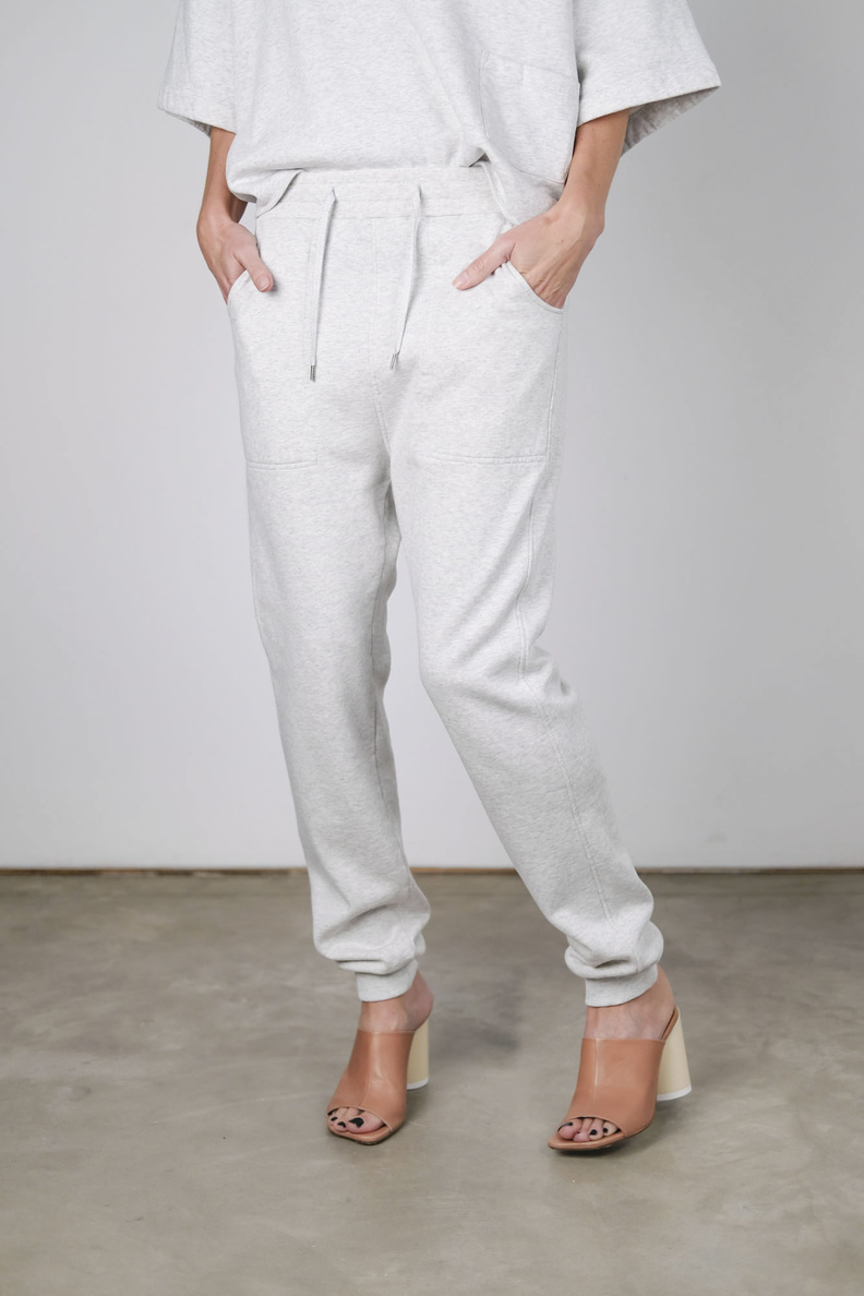 humanoid haroon trousers birch heather