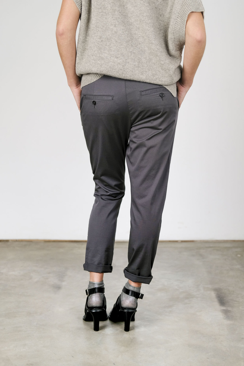 hope news edit trousers dark grey