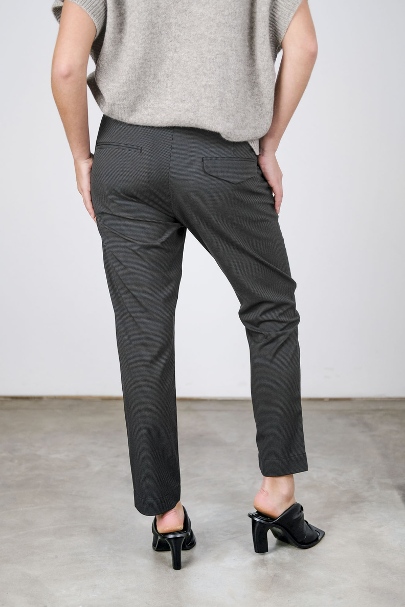 hope krissy edit trousers grey check