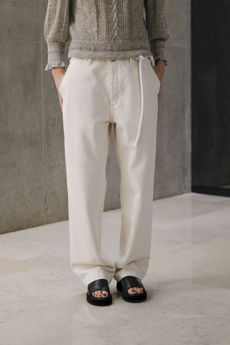 hope van trousers ecru