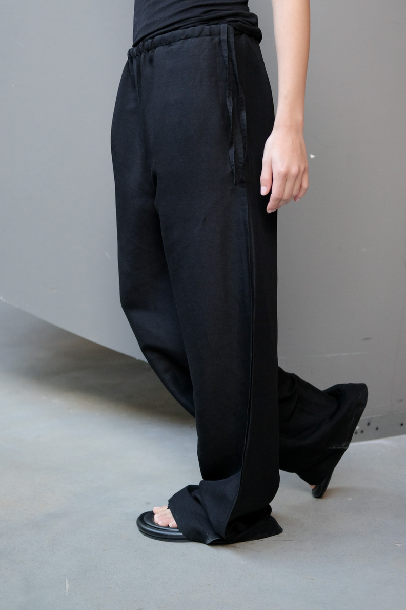 hope laze trousers black