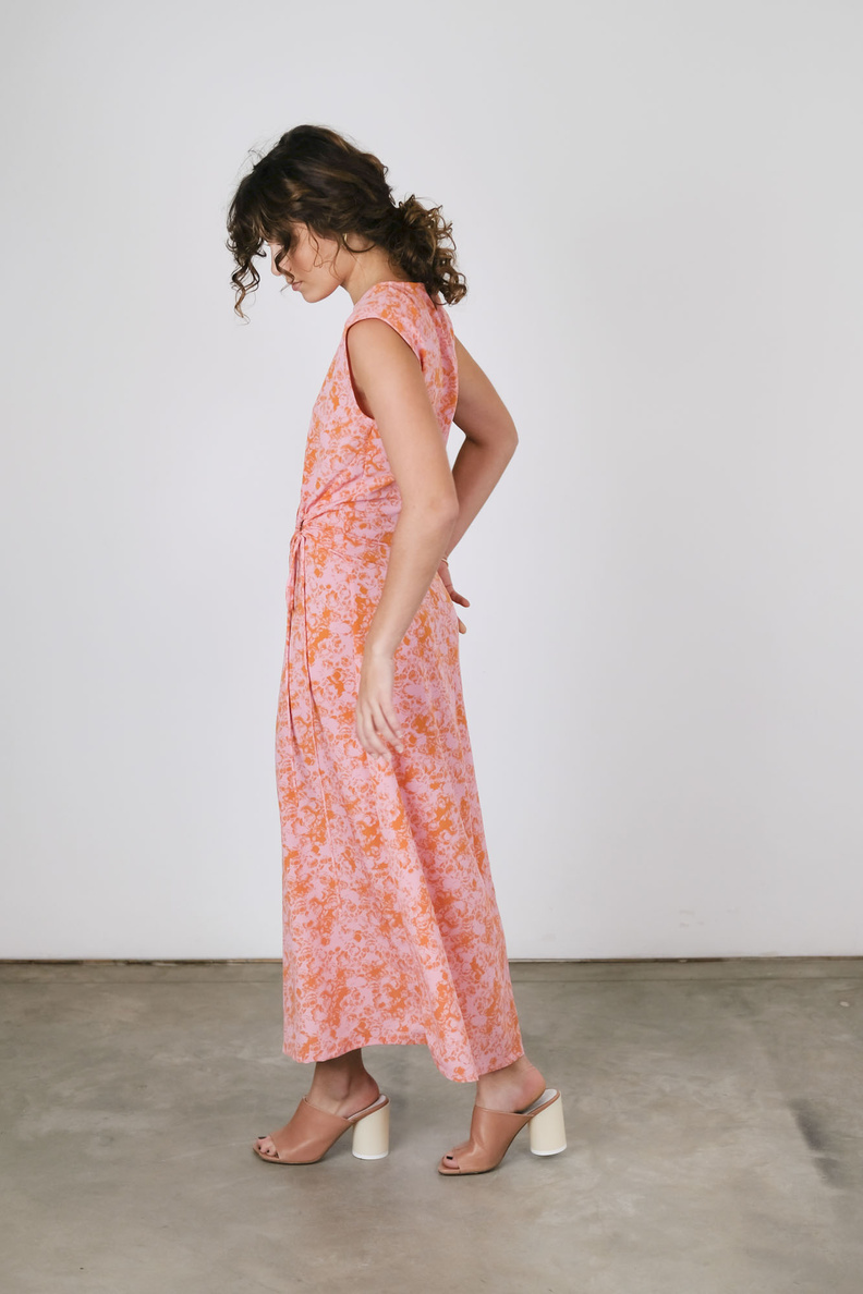 rodebjer lucja dress cherry blossom