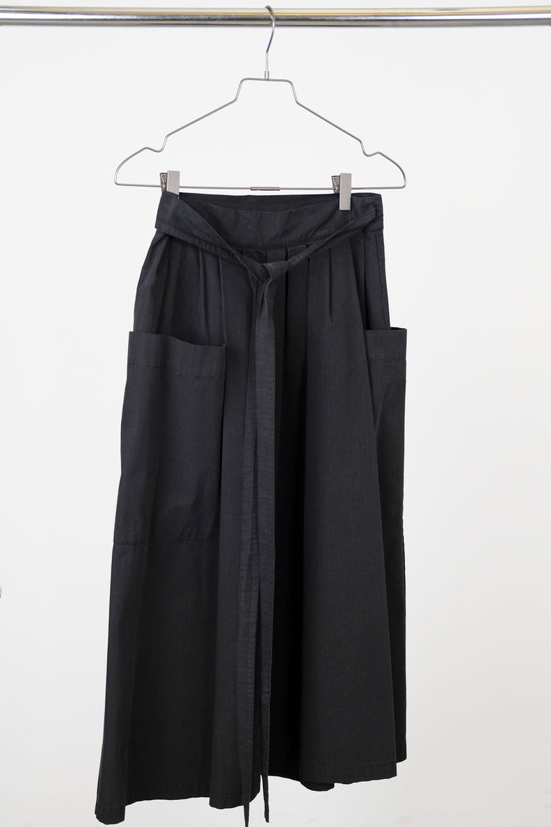 girls of dust w-prairy skirt black